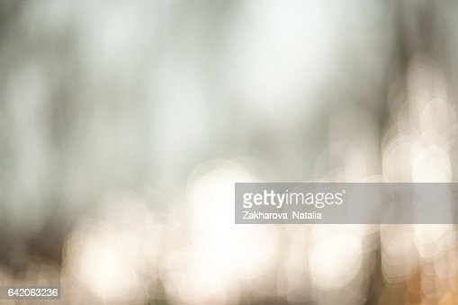 Beautiful Nature blurred light abstract background - Natural outdoors bokeh background with soft effect : Stock Photo