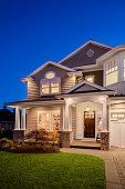 New Luxury Home Exterior