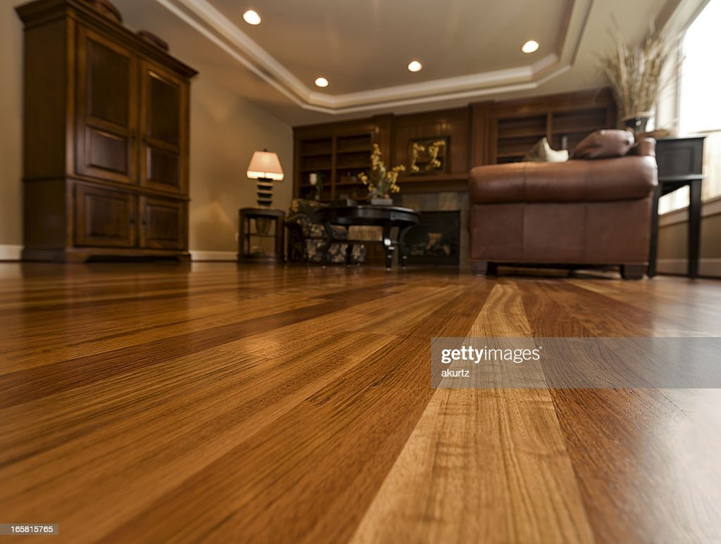 Beautiful New Hardwood Floors Home Interior Copy Space Part 92