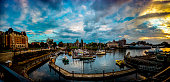The Victoria Inner Harbour is one of a very beautiful harbours in the world. The Victoria Inner Harbour has lot of  long history and small and recreational vessels and tall ships can moor there.