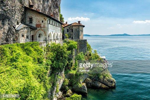 beautiful old convent at Lago Maggiore