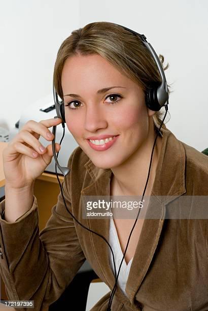 Beautiful operator 6