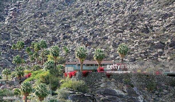La magnifique ville de Palm Springs, bâtiment construit en 1925