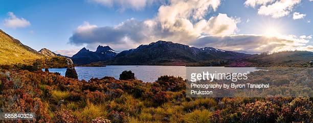 Beautiful Panoramic Cradle Mountain