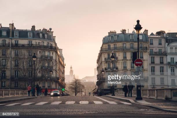 Beautiful Paris street