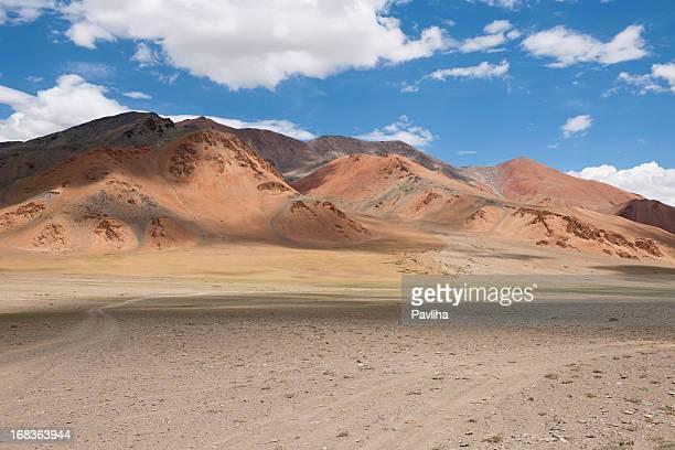 Beautiful Plateau Mora India Cloudy Daytime