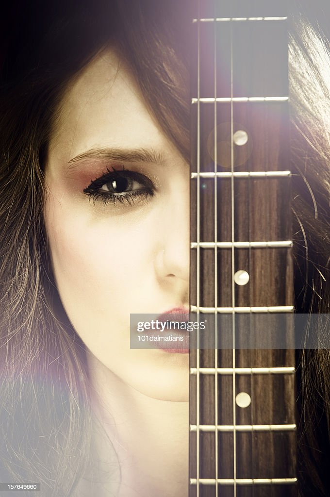 Beautiful Popstar : Stock Photo