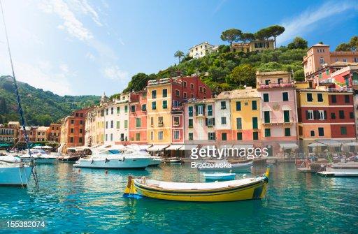 Magnifique Portofino, Ligurie, en Italie)