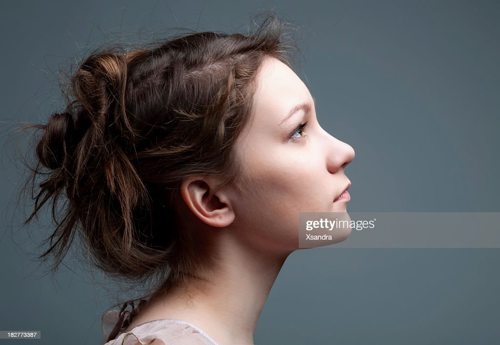 Beautiful profile : Stock Photo