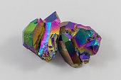 Beautiful Rainbow Titanium Aura Quartz Crystal