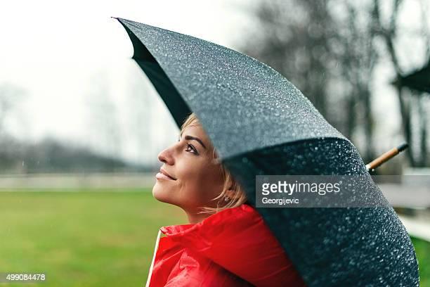 Wunderschöne regnerischen Tag