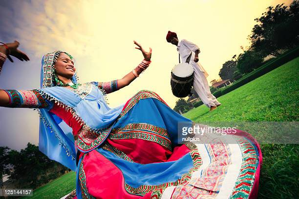 beautiful rajasthani girl dancing