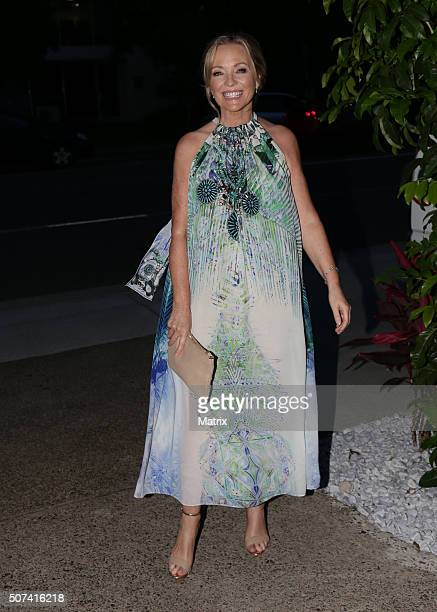 Beautiful Rebecca Gibney enjoyed the MKR launch party on January 27 2016 in Brisbane Australia