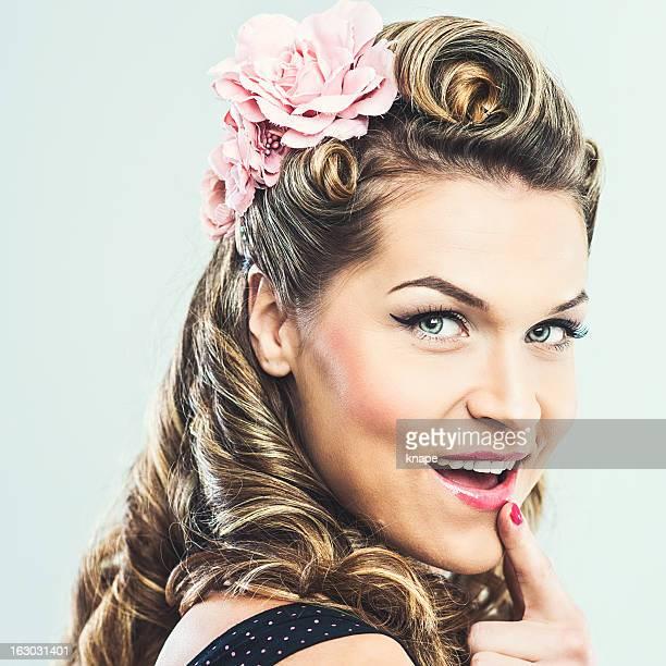 Beautiful rockabilly woman