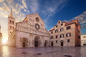 Saint Anastasia Cathedral, (Katedrala Sv. Stosije), Zadar, Croatia