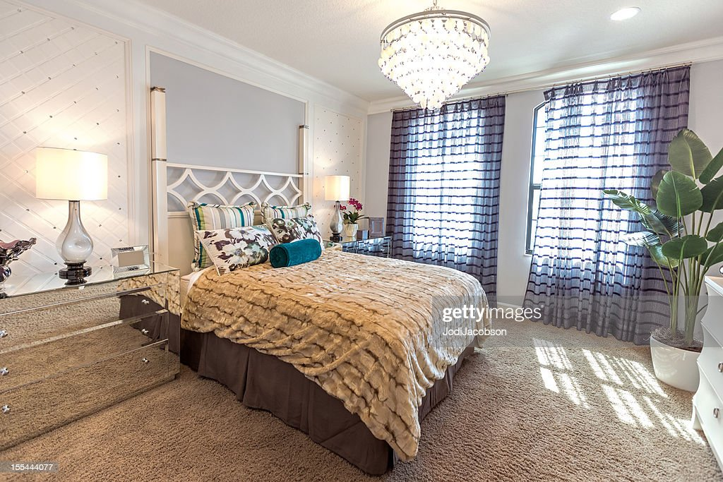 Beautiful Romantic Bedroom Stock Photo Getty Images
