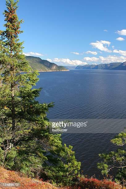 Beautiful Saguenay River Scenics