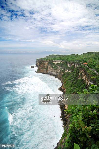 Beautiful Sea and Sky at Ulu Watu