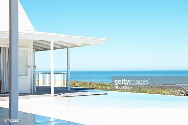 Magnifique paysage marin de la beach house