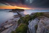 Beautiful seascape view at La Perouse, Sydney ,Australia.