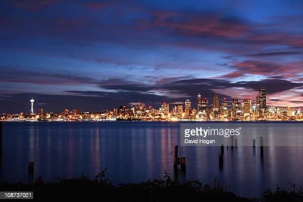 Beautiful Seattle Sunrise from Alki