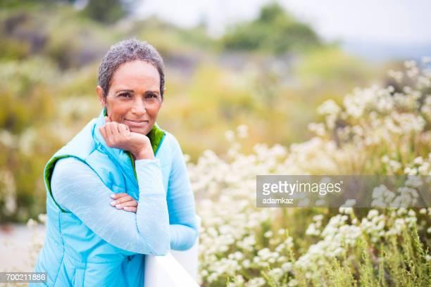 Beautiful Senior African American Woman Portrait