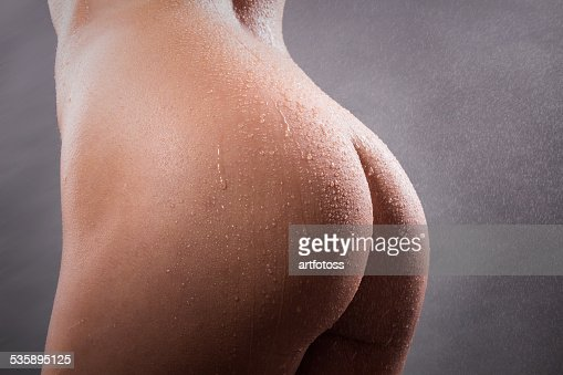 beautiful sexy body naked woman : Stock Photo