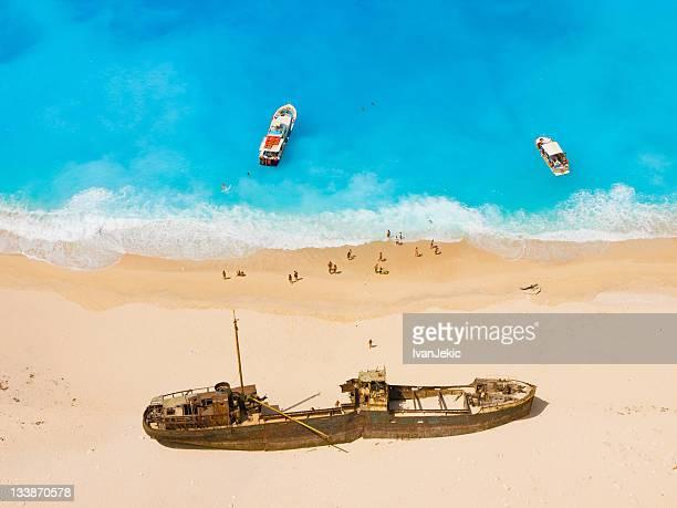 Wunderschöne shipwreck-Strand