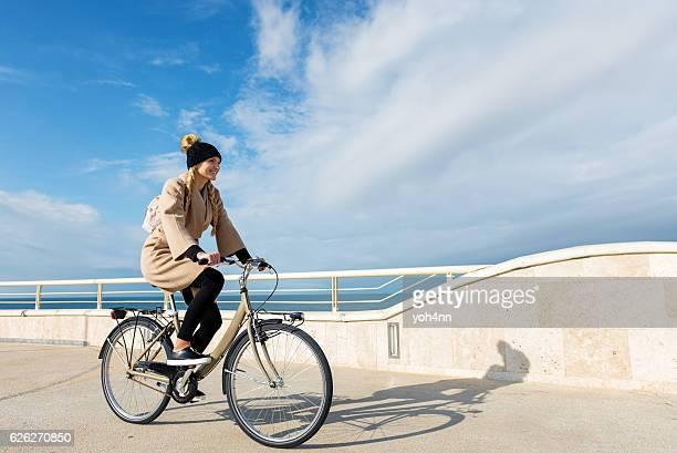 Beautiful sightseeing by bike