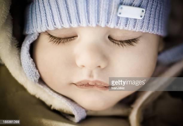 Beautiful sleeping baby