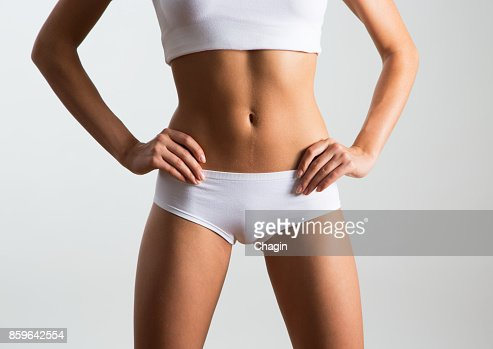 Beautiful slim body : Stock Photo