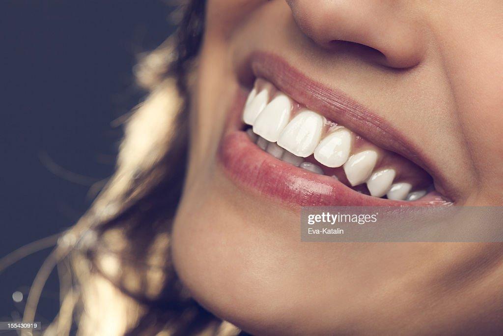 Beautiful smile : Stock Photo