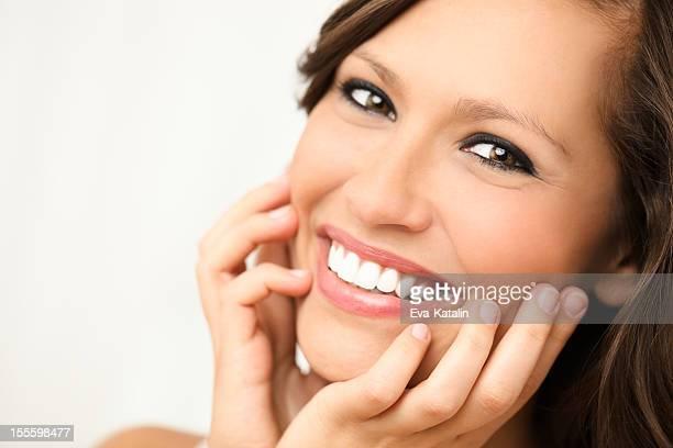美しい笑顔