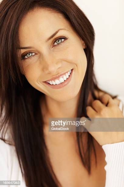 Beautiful smiling female