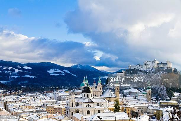 Wunderschöne Schnee Salzburg