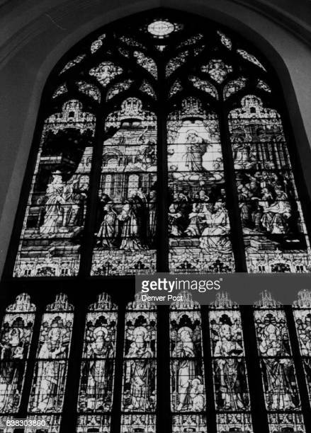 Beautiful stained glass windows of the cathedral are famous The cathedral has 75 stained glass windows the most of any church or cathedral in country...
