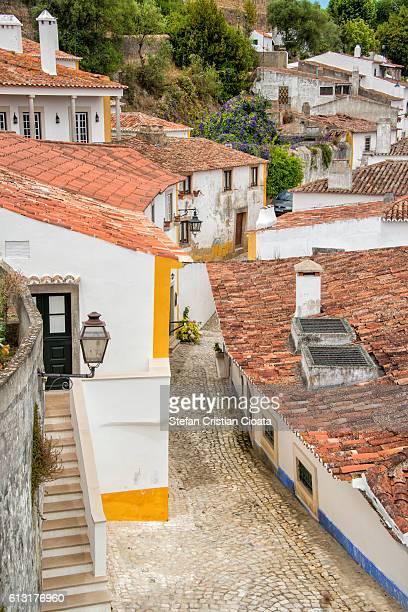 Beautiful streets of Obidos