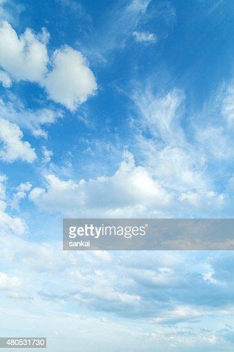 Beautiful summer sky : Stock Photo