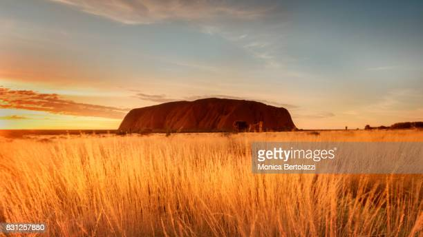 A beautiful Sunrise at Uluru