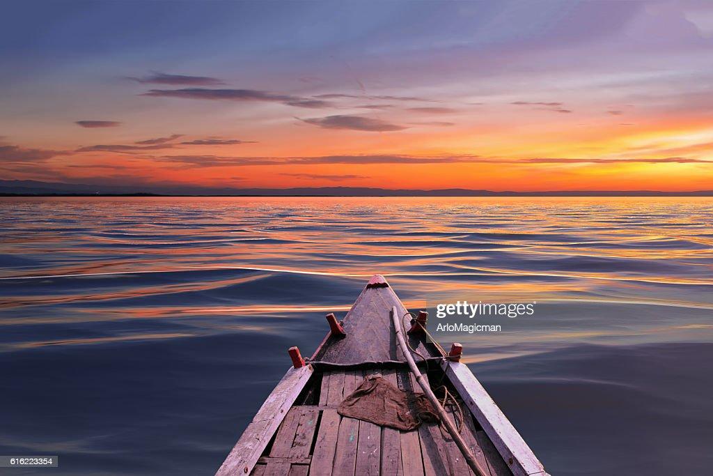 beautiful sunset day : Stock Photo