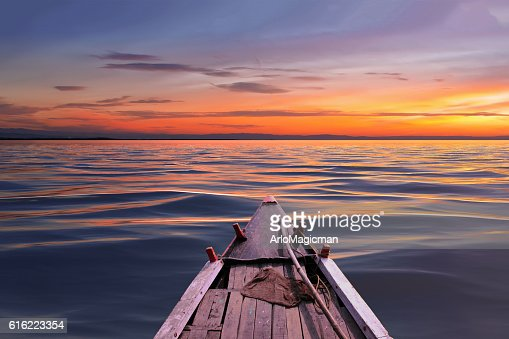 beautiful sunset day : Stock Photo