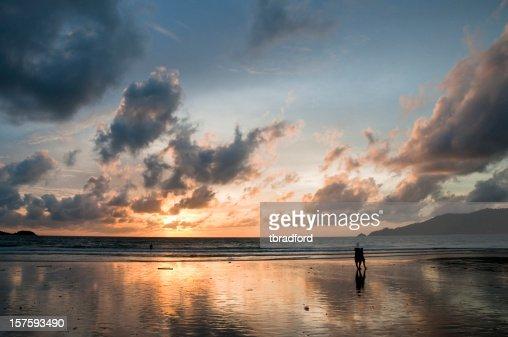 Beautiful Sunset In Phuket