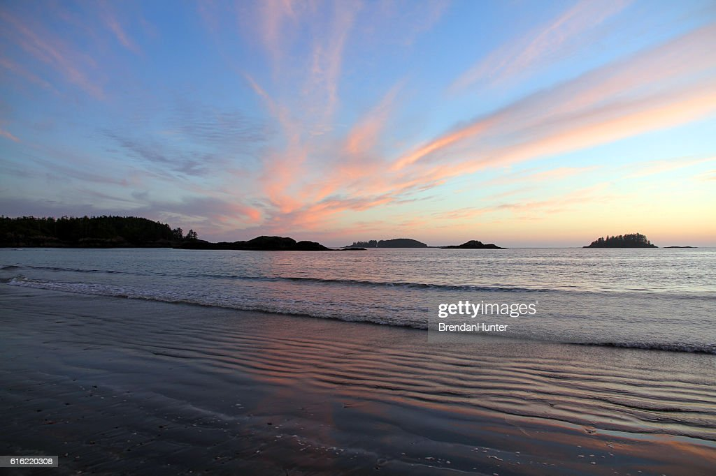 Beautiful Tofino Sky : Stock Photo