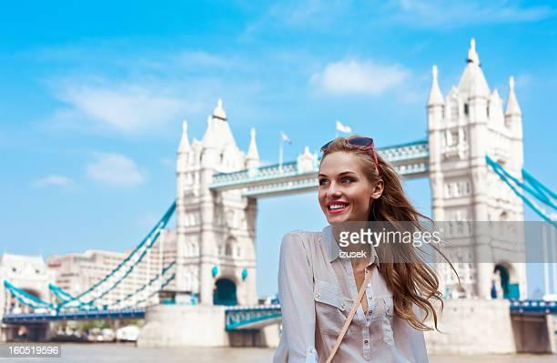Beautiful Tourist in London
