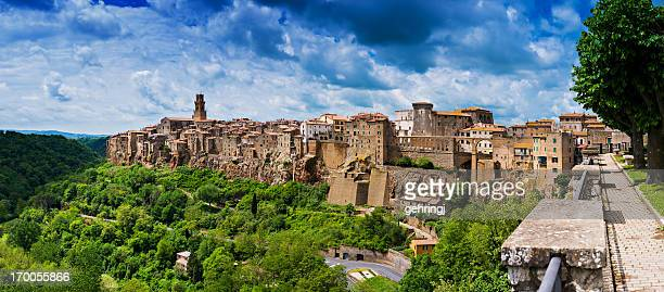 Bellissima città in Toscana, Pitigliano. Provincia di Grosseto.