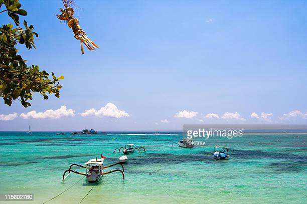 Beautiful tropical beach - Diving snorkeling paradise, Lembongan island, Bali