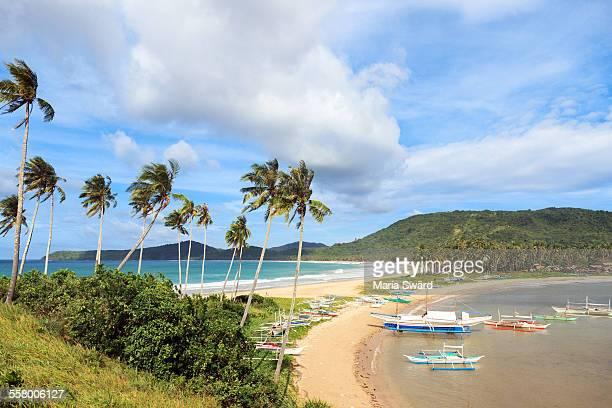 Beautiful Twin Beach, El Nido, Palawan