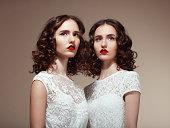 Beautiful twins