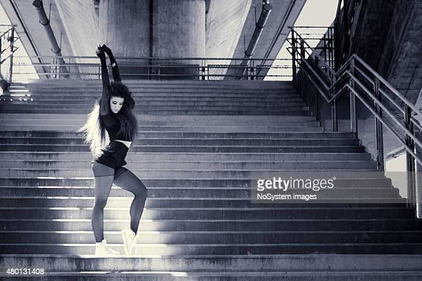 Beautiful urban dancer