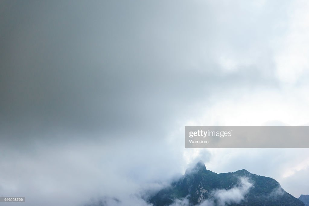 beautiful view nature and sky for top travel in tha : Stock Photo